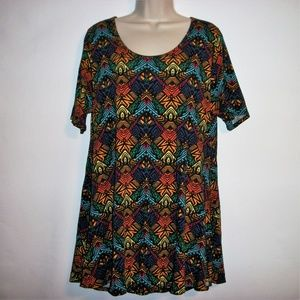 Lularoe Size XL Multy Color The  Perfect Shirt
